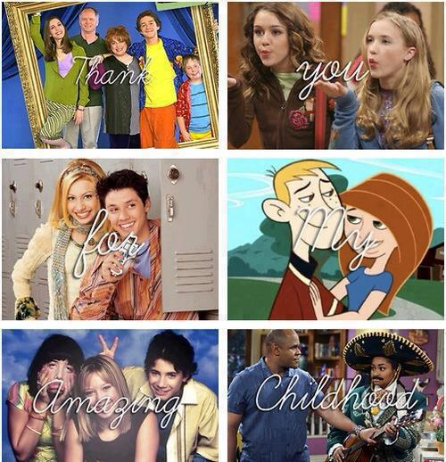 Thank You For My Amazing Childhood
