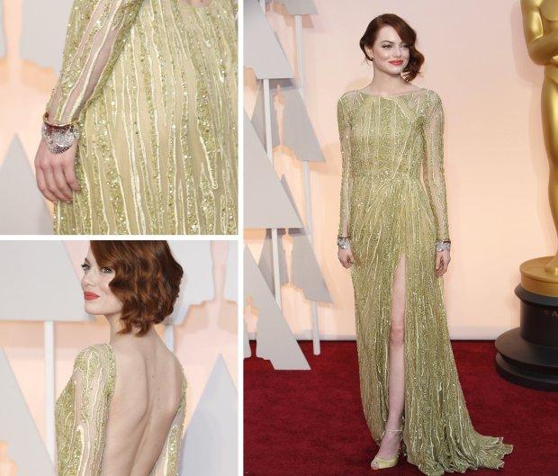 Oscars 2015 Emma Stone
