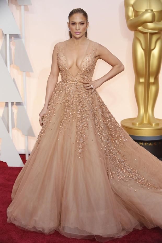Oscars 2015 Jennifer Lopez