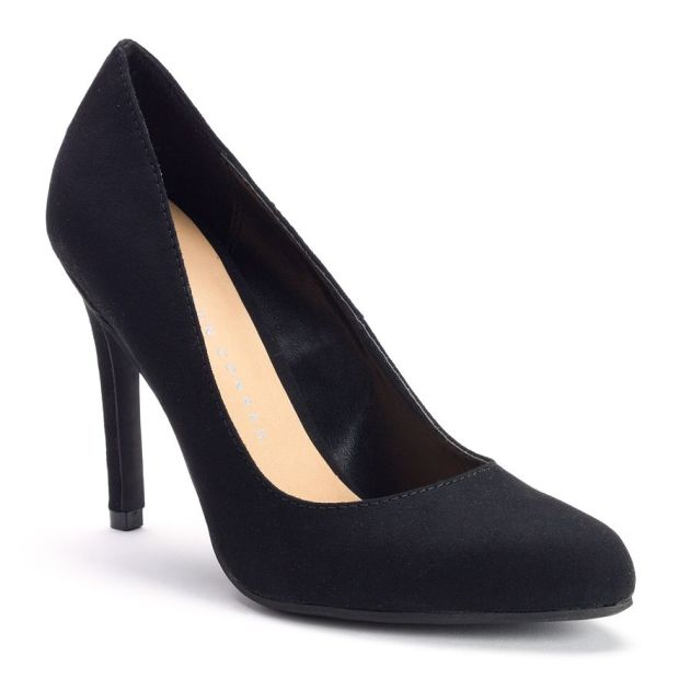 Lauren Conrad Black High Heel Dress Shoes