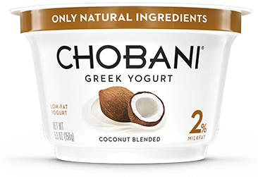 Coconut Chobani Greek Yogurt