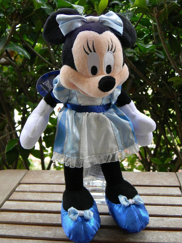 Disneyland Diamond Anniversary Minnie Mouse Plush