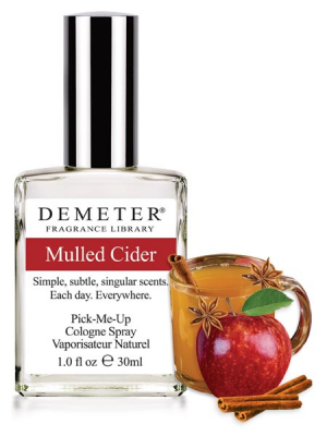 Source: http://demeterfragrance.com/mulled-cider.html