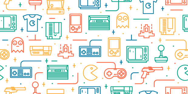 Source: https://dribbble.com/shots/1917541-Retro-Games-Seamless-Pattern-2/attachments/329089